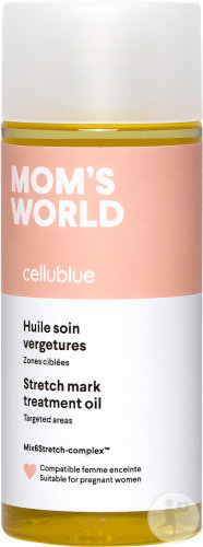 Cellublue Mom's World Huile Soin Vergetures 150ml