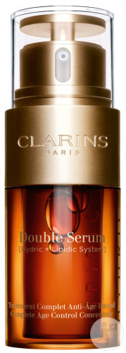 Clarins Double Sérum Traîtement Complet Anti-Age Intensif Flacon 30ml