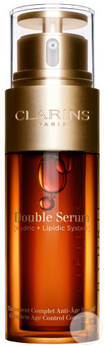 Clarins Double Sérum Traîtement Complet Anti-Age Intensif Flacon 50ml