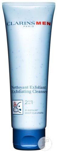 Clarins Men Nettoyant Exfoliant 2en1 Purifiant Tube 125ml