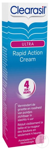 Clearasil Ultra Crème Invisible A Action Rapide Acné 15ml
