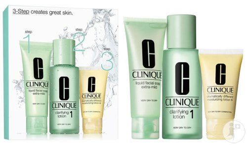 Clinique 3 Step Introduction Kit Type 1