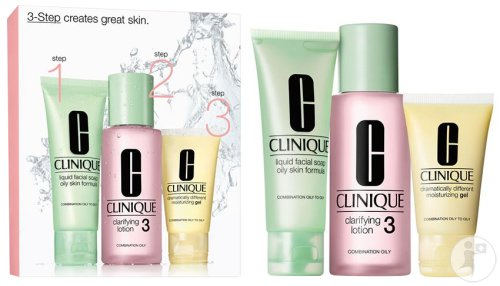 Clinique 3 Step Introduction Kit Type 3