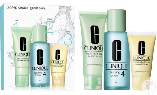 Clinique 3 Step Introduction Kit Type 4