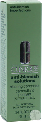 Clinique Anti-Blemish Solutions Camouflant Purifiant Formule S.O.S. Teinte 03 Tous Types Peau 10ml