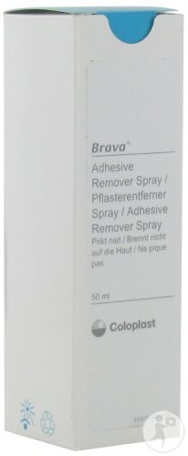Coloplast Brava Adhesive Remover Spray 50ml