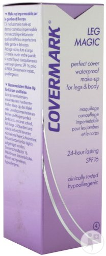 Covermark Leg Magic N°4 Chair Clair Tube 50ml