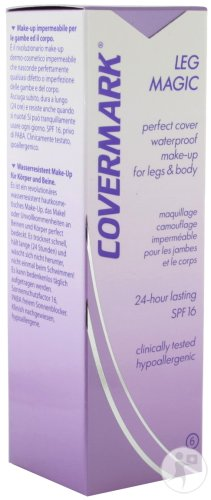 Covermark Leg Magic N°6 Brun Doré Tube 50ml