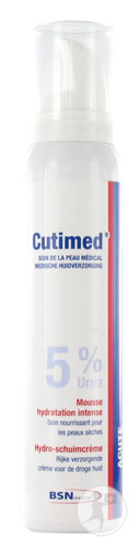 Cutimed Acute 5% Urée Mousse Hydratation Intense Flacon 125ml