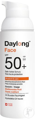 Daylong Protect & Care Visage Fluide Matifiant IP50+ Tube 50ml