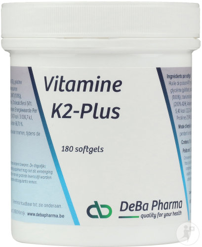 Deba K2-Plus 180 Softgels