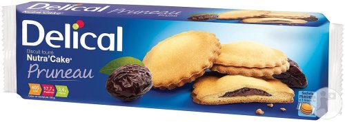 Delical Biscuit Fourré Nutra'Cake Pruneau 3 Sachets x 3 Biscuits