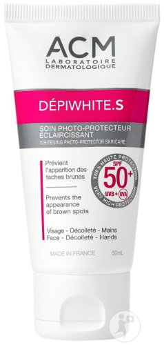Depiwhite S Soin Anti-tâche IP50+ Tube 50ml