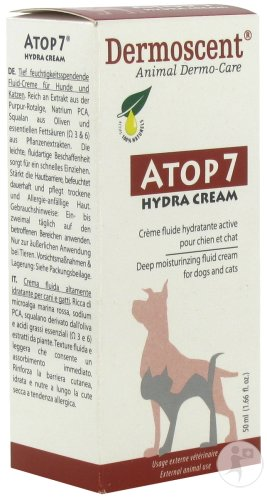 Dermoscent Atop 7 Hydra Cream Chien Et Chat Tube 50ml