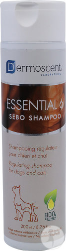 Dermoscent Essential 6 Sebo Shampoing Chien Et Chat Flacon 200ml