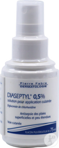 Diaseptyl 0,5% Solution Application Cutanée Plaies Superficielles Spray 75ml