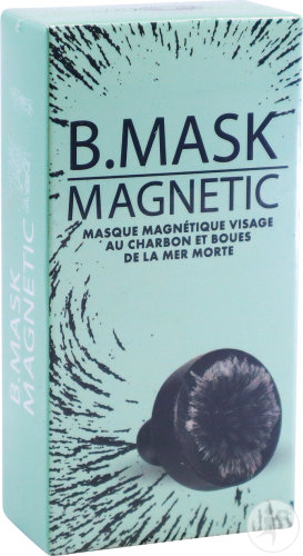 DietWorld B. Mask Magnetic Masque Magnétique Visage Au Charbon Et Boues De La Mer Morte Tube 15ml