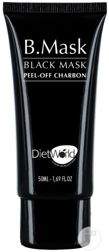 DietWorld Black Mask Peel-Off Charbon Tube 50ml