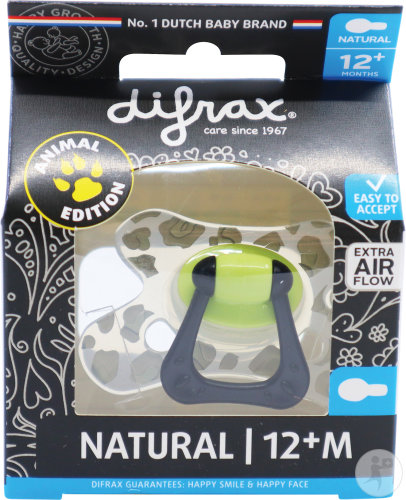 Difrax Sucette Natural 12+ Special Edition