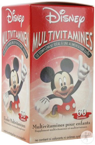 Disney Multivitamines Mickey 60