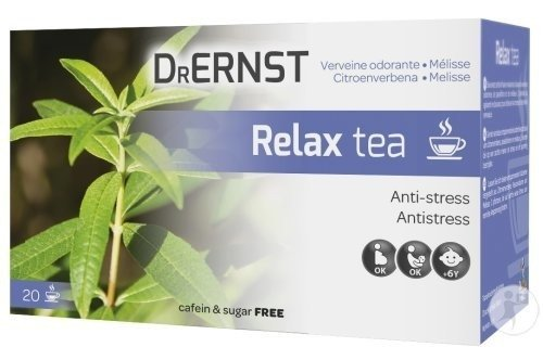 Dr Ernst Relax Tea 20 Tasses