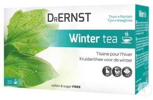 Dr Ernst Winter Tea 20 Tasses