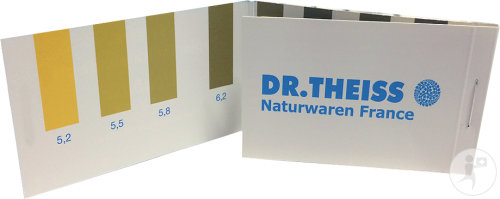 Dr. Theiss Alcabase Papier Indicateur pH Urinaire 52 Bandelettes