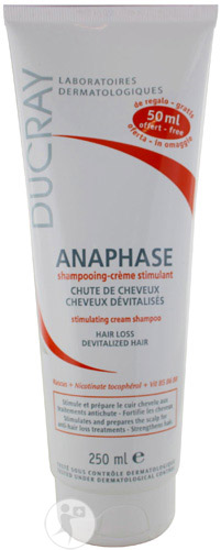 Ducray Anaphase Shampoing Crème 200ml + 50 ml Gratuit