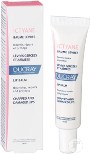 Ducray Ictyane Baume Lèvres Tube 15ml