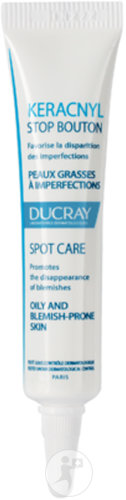 Ducray Keracnyl Stop Bouton Peaux Grasses A Imperfections Tube Canule 10ml