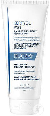 Ducray Kertyol P.S.O. Shampoing Traitant Rééquilibrant Tube 200ml