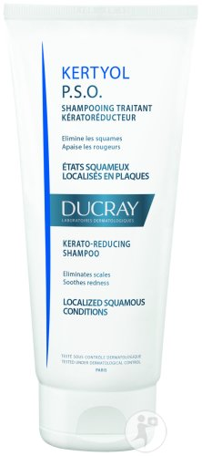 Ducray Kertyol P.S.O. Shampoing Traitant Tube 200ml Nouvelle Formule