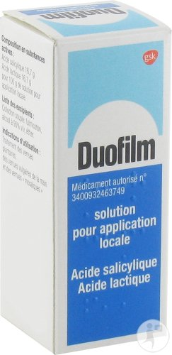 Duofilm Solution Application Locale Traitement Verrues Flacon 15ml