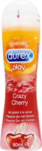 Durex Play Crazy Cherry Gel Plaisir À La Cerise Tube 50ml