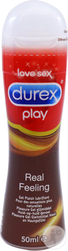Durex Play Real Feeling Gel Plaisir Lubrifiant Flacon 50ml