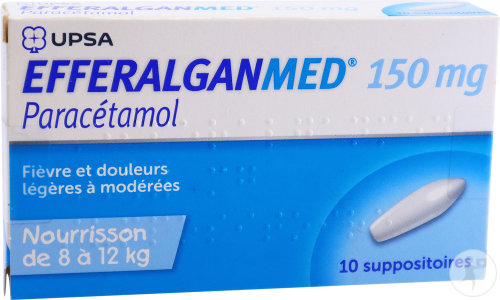 Efferalganmed Douleurs Et Fièvre Nourrisson 10 Suppositoires 150mg