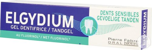 Elgydium Gel Dentifrice Dents Sensibles 75ml