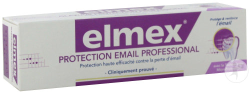Elmex Dentifrice Protection Émail Professional Tube 75ml