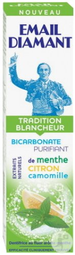 Email Diamant Dentifrice Tradition Blancheur Tube 75ml