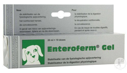 Enteroferm Chien/chat Gel Tube 1 X 20ml