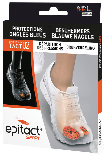 Epitact Sport Protections Ongles Bleus Epitheliumtact 02 Taille L 2 Pièces
