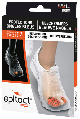 Epitact Sport Protections Ongles Bleus Epitheliumtact 02 Taille S 2 Pièces