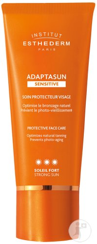 Esthederm Adaptasun Sensitive Soin Protecteur Visage Soleil Fort Tube 50ml