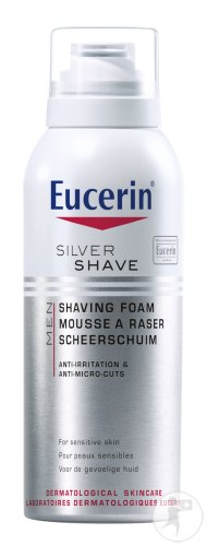 Eucerin Silver Shave Men Mousse À Raser 150ml