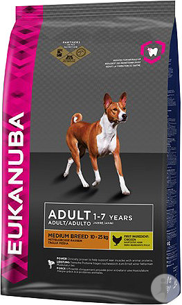 Eukanuba Adult Medium Breed Dog 12kg
