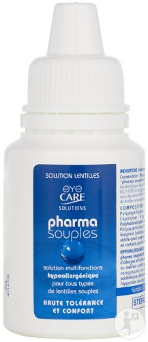 Eye Care Pharma Souples Solution Lentilles Contact 50ml Nl