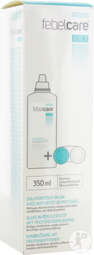 Febelcare Eye 1 Solution Lentille Tout En Un 350ml