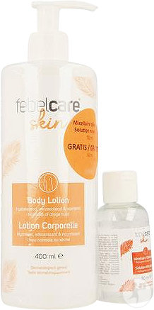Febelcare Skincare Lotion Corporelle 400ml + Solution Micellaire 50ml