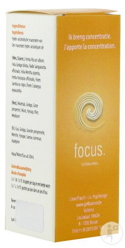 Focus Gouttes Fl 20ml