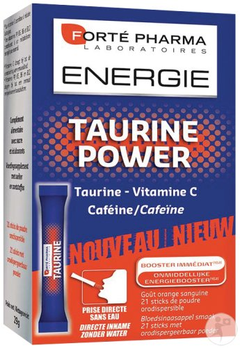 Forté Pharma Énergie Taurine Power 21 Sticks